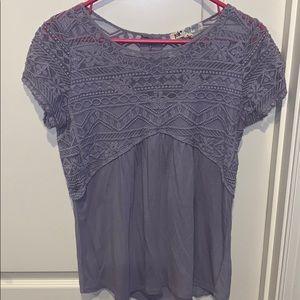 Purple Jolt blouse